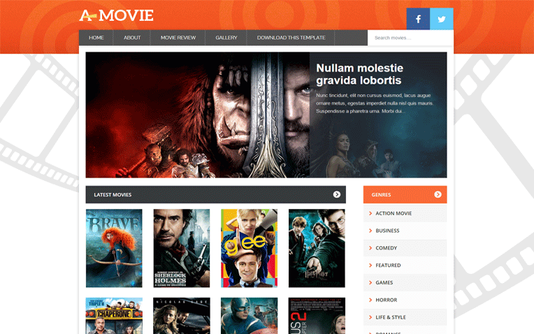 Movie Power Full Streaming Responsive Blogger Template