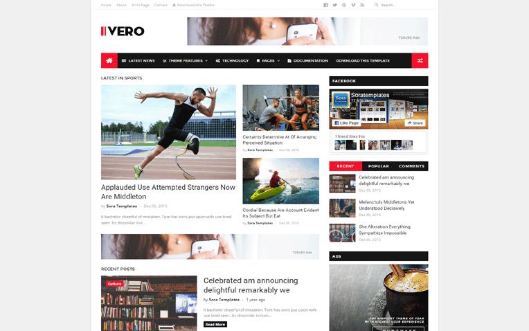 IVERO Minimal Personal Creative Blogger Template