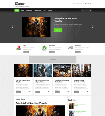 Video Blogger Templates Free Download