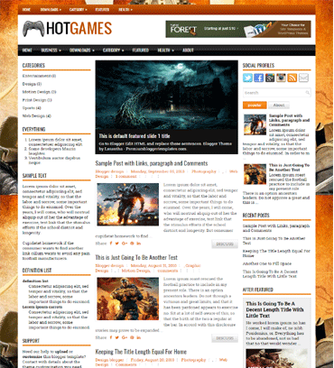 Blogger templates 2017 free download template library hotgames pronofoot35fo Gallery