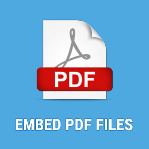 How to Embed PDF Files in Blogger Site
